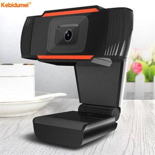 Webcam Kebidumei USB 480P 720P 12.0MP Độ Phân Giải Cao Có Thể Xoay 360 Độ Kèm Micro Cho Máy Tính Để Bàn-Intl thumbnail
