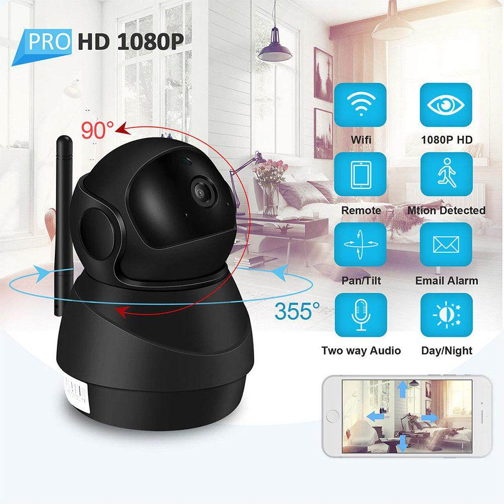1080P Home Security HD IP Wireless Smart WiFi CCTV Camera with Night Vision