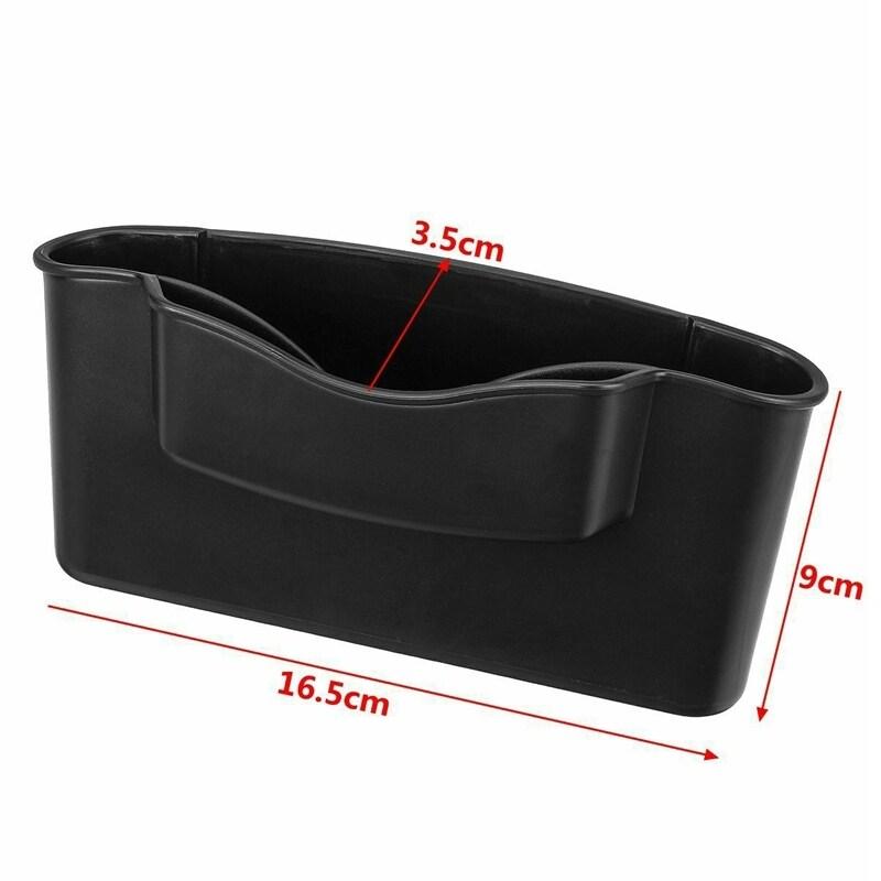 Car Seat Crevice Space Storage Box Pocket Organizer Key Phone Holder Universal