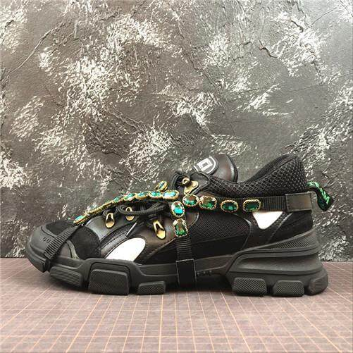 92d146634237 Gucci Official Men s Sports Sneakers Shoes Discounted Rhyton Vintage  Trainer Sneaker Size 40-44