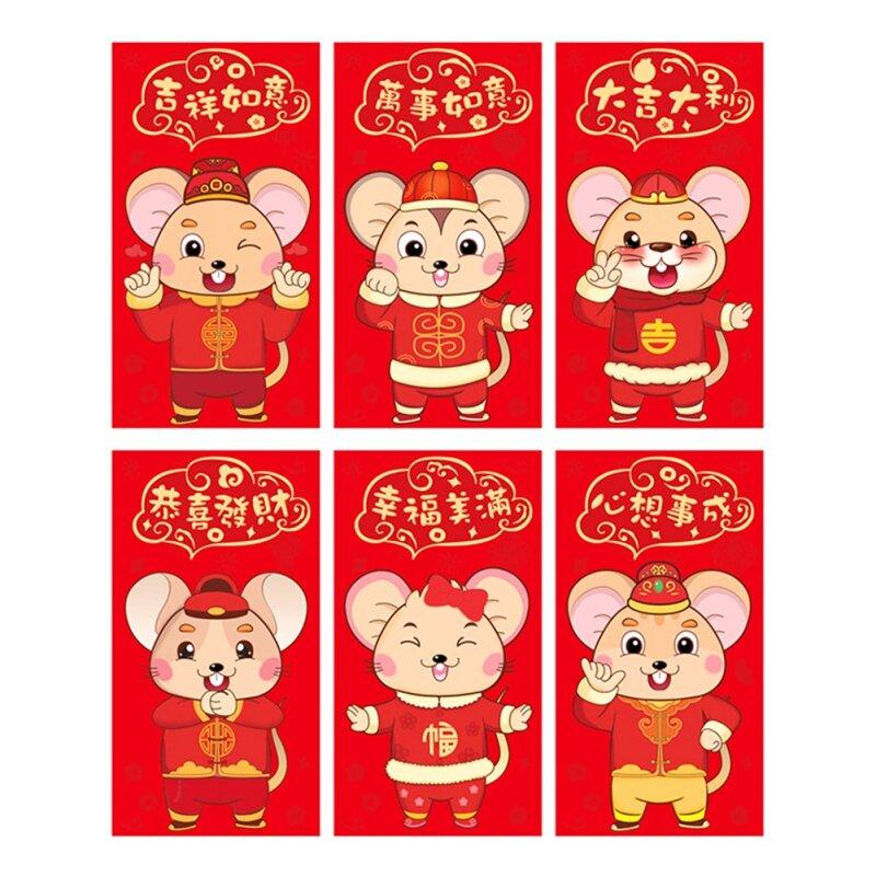 Giá bán Trung Quốc Lễ Hội Mùa Xuân Năm Mới Của Phim Hoạt Hình Đỏ Bao Thư/Tiền Bao Thư