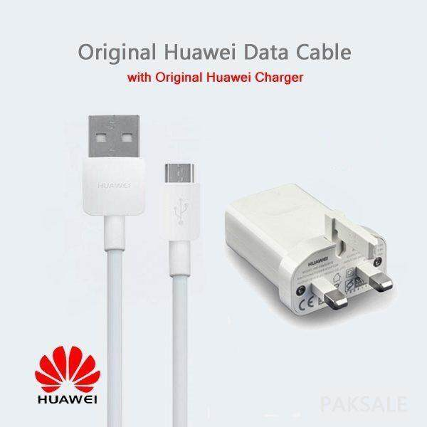HUAWEI NOVA3i ,HONOR 8X SUPPER FAST CHARGER 5V 4 5A WITH MICRO USB CABLE  100% ORIGINAL [3 MONTHS WARRANTY]