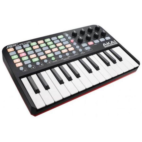 Akai Professional USB MIDI Keyboard Controller APC KEY 25 included with Ableton Live Lite Malaysia