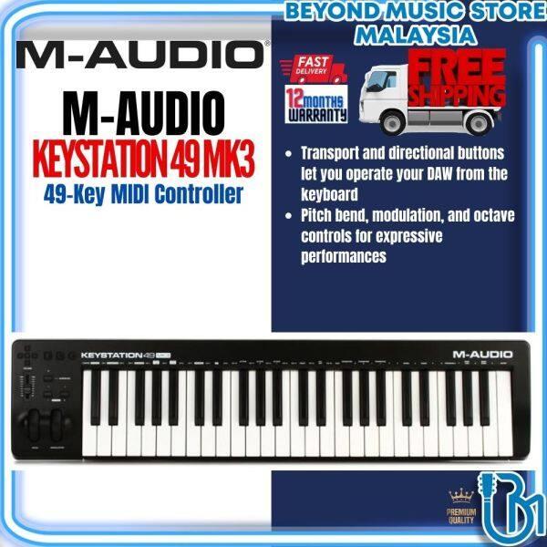 M-Audio Keystation 49 Mk3 - 49-Key MIDI Controller (Keystation-49/Keystation49) Malaysia