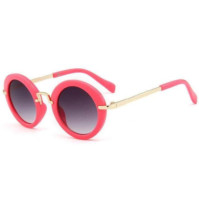 5cdebb066f18 UVLAIK Cute Round Kids Sunglasses Children Fashion Glasses Girls Boys UV400  Lens Baby Sun glasses Protect
