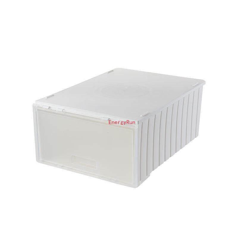EnergyRun Dust-proof Storage Box Shoe Box Combination Shoe Cabinet