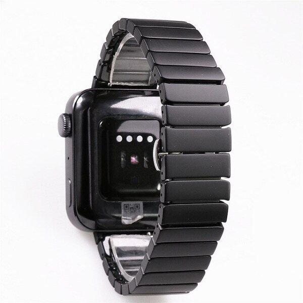 Suitable for Xiaomi smart MI watch exclusive high-end luxury Frosted matte black ceramic strap 20mm bracelet wristband belt band Malaysia