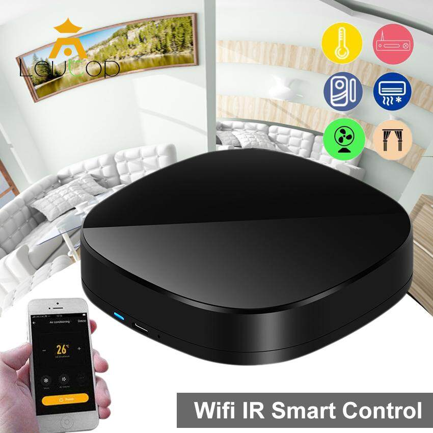 LEVTOP Smart IR, WiFi Smart Home Control, TV Remote Controller, Make Your  Home Smart Through WiFi, Universal IR Remote Compatible with Alexa and