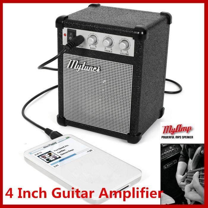 4 Inch Micro Portable 5-watt Powered Guitar Amp Amplifier 4 ohms with USB
