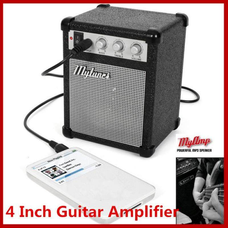 4 Inch Micro Portable 5-watt Powered Guitar Amp Amplifier 4 ohms with USB Malaysia