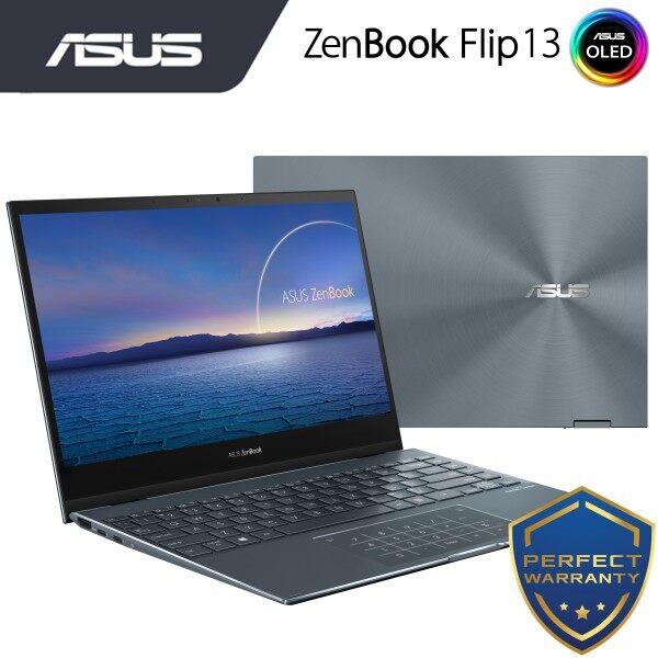ASUS ZENBOOK FLIP 13 UX363E-AHP284TS LAPTOP - PINE GREY (I5-1135G7/8GB LPDDR4X/512GB SSD/W10/13.3 FHD/2YRS) + MS OFFICE 2019 & SLEEVE Malaysia
