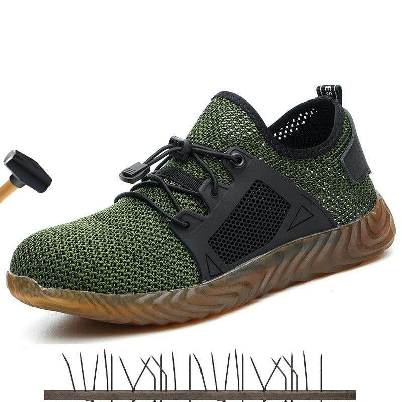 7d639cb1ea35b Men And Women Steel Toe Cap Safety Boots Indestructible Shoes Work Sneakers