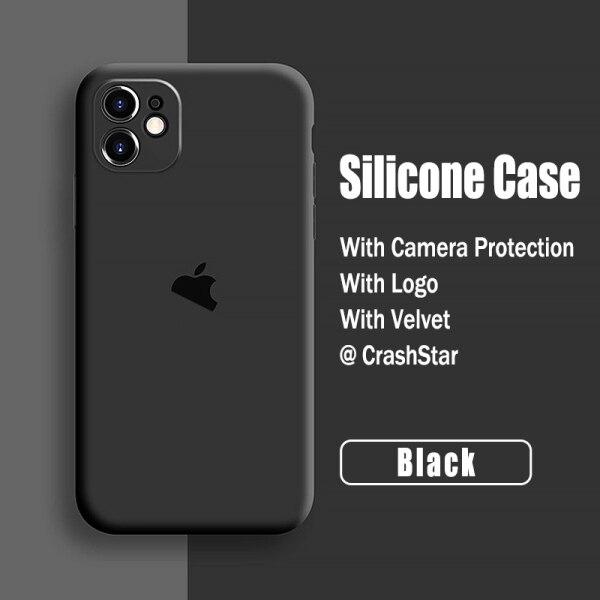 Ốp điện thoại đầy màu sắc bằng silicon chống bụi bẩn chống trầy xước bảo vệ Ống Kính Máy Ảnh Có Logo cho iPhone 12 Pro Mini Max 11 SE 2020 X XR XS MAX 8 7 6 6S