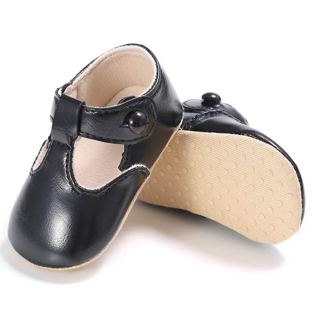 Bé Gái Hoặc Bé Trai Phối Vải Giày Sneaker Chống trơn trượt Đế Mềm Cho Bé BU/3 MML