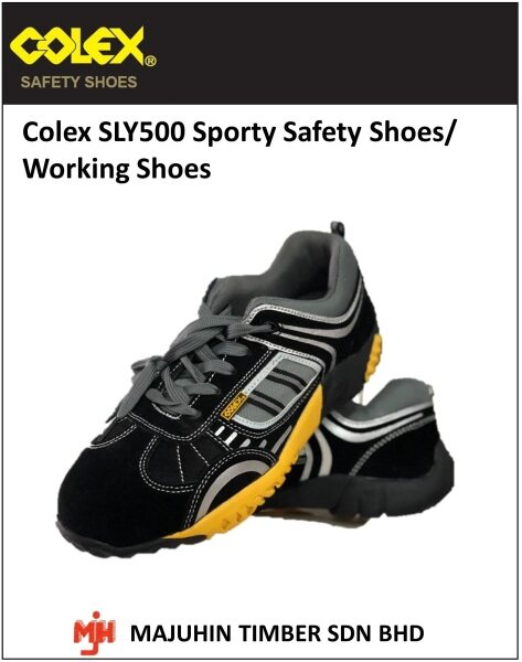 Colex SLY500 Sporty Safety Shoes Working Shoes Kasut Industrial [Hardware DIY]