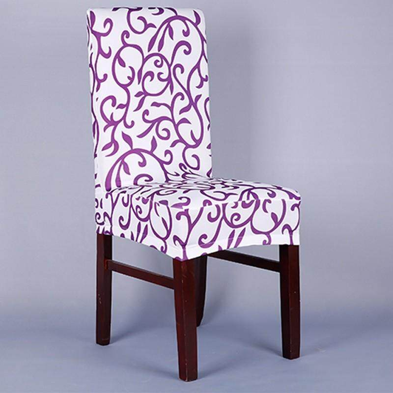 Printing Dinner Chair Covers Spandex Stretch Chair Cover Wedding Chair Covers Slipcover Decoration By Rytain.