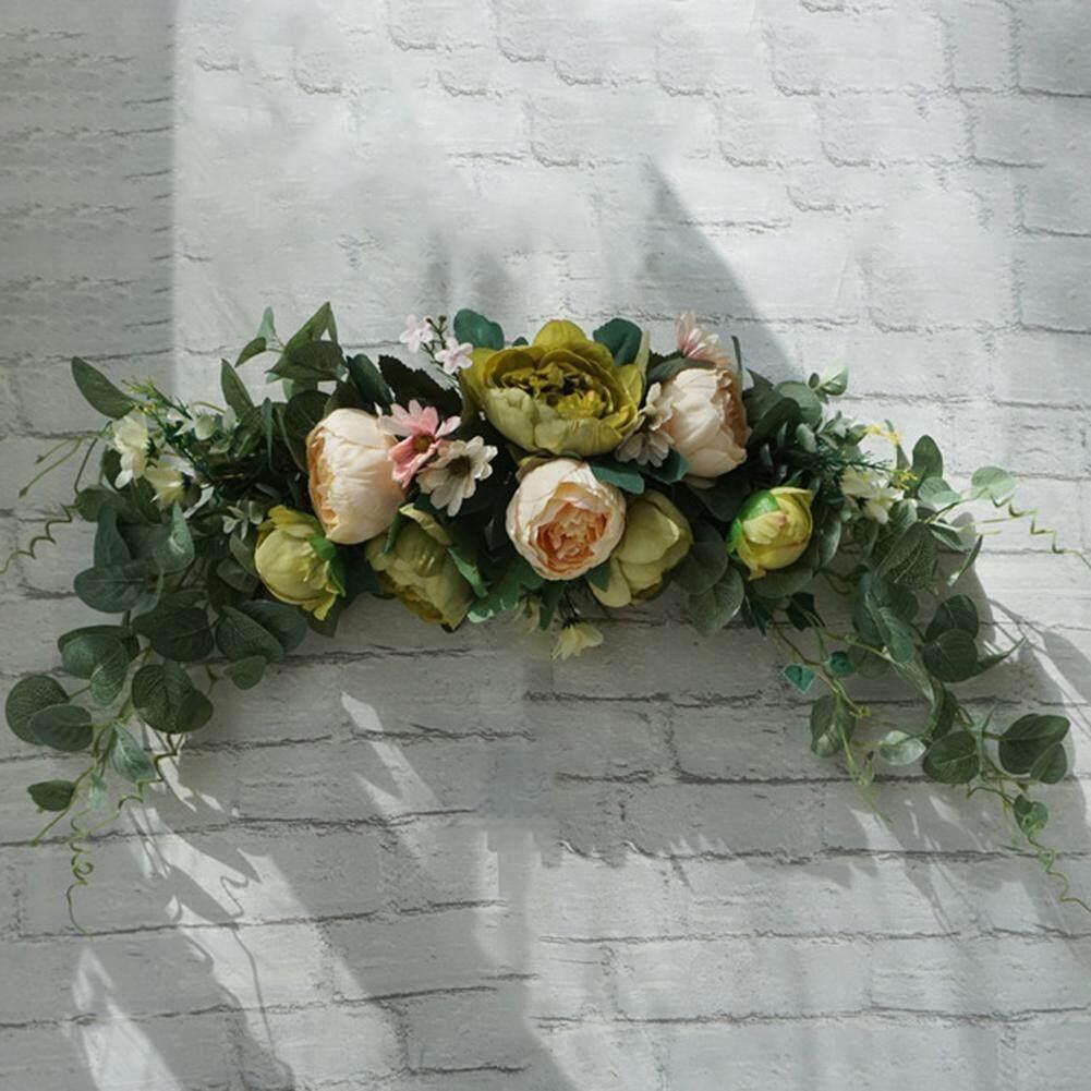 Laputa Artificial Flower Wreath Door Threshold Garland Home Wedding Party Wall Decor