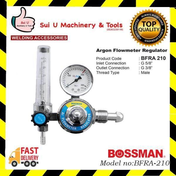 BOSSMAN BFRA-210 / BFRA210 Argon Flowmeter Regulator Welding Accessories