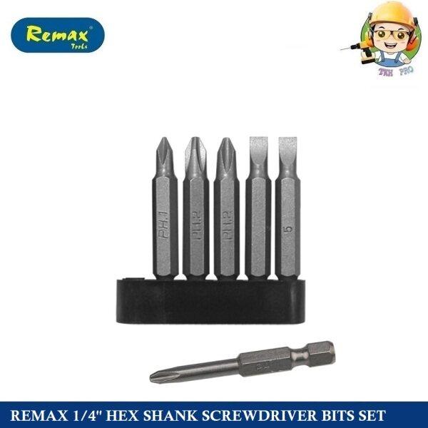 REMAX 1/4 HEX SHANK SCREWDRIVER BITS SET 68-DS208