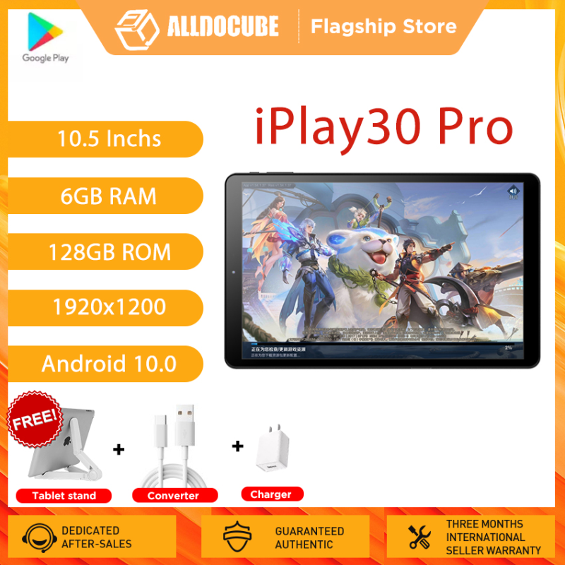 Alldocube iPlay30 Pro 10.5 Inch Tablet PC 6GB RAM 128GB ROM 4G LTE Android 10【Flagship Store】