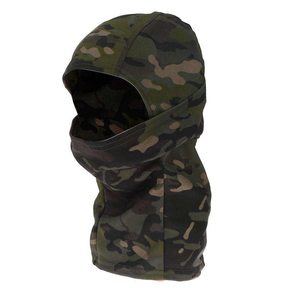 295c6d3f365 MotorcyclesAccessories Full Face Mask Motorcycle Cycling Quick Dry  Balaclava Hood (Jungle Camo)