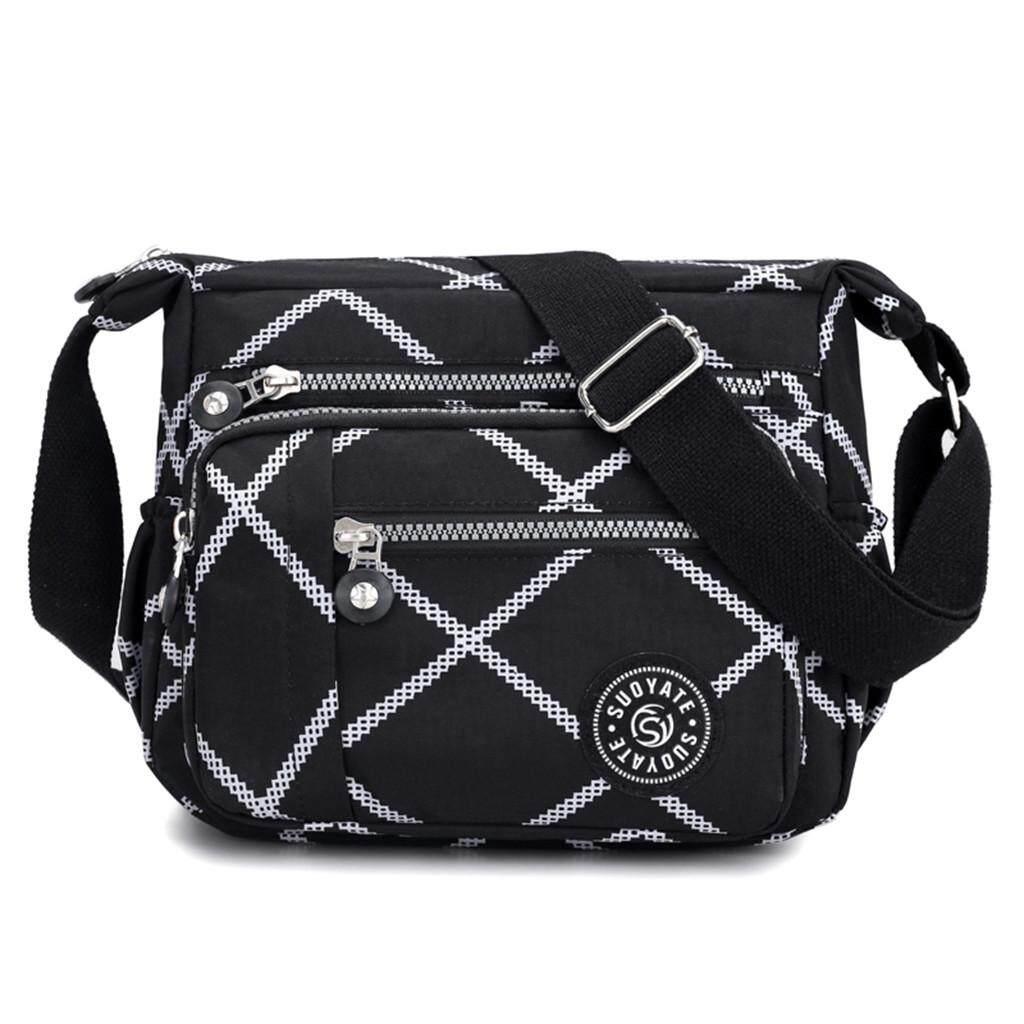 Women/'s Waterproof Nylon Shoulder Bags Handbags Messenger Bag Tote Crossbody Bag