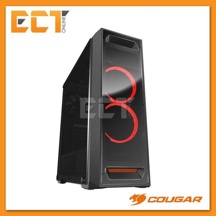 Cougar MX350 Mid-Tower ATX Tempered Glass Gaming Casing / Chasis Malaysia