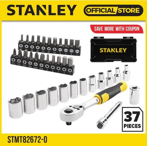 STANLEY STMT82672-0 (1/4DR) 37PCS COMPACT SOCKET SET