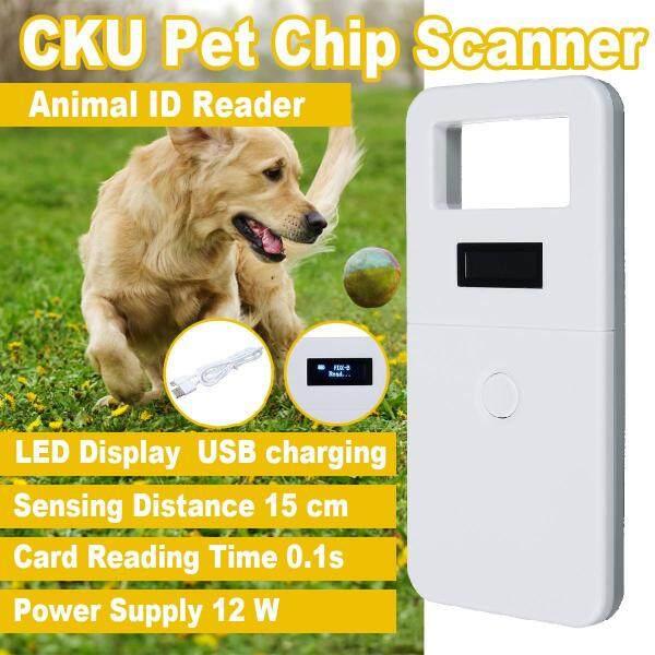 Máy Quét Chip Pet CKU Màn Hình OLED Sạc USB Đầu Đọc ID Động Vật-