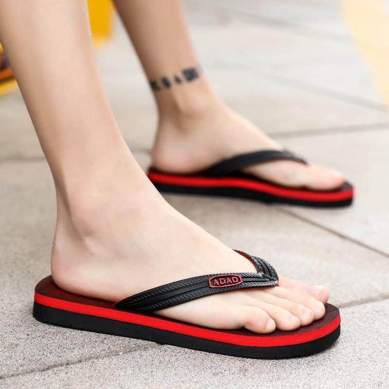 4ad157c6 Slipper Male Fashion England Flip-flops 2019 Summer New Style Anti-slip Flip -