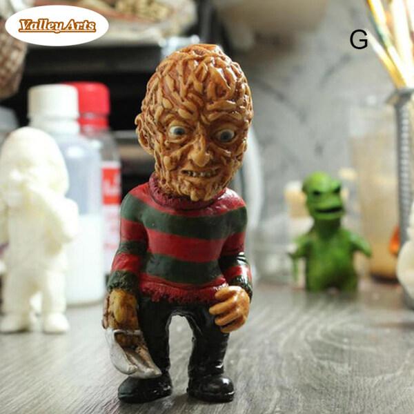 Tượng Điêu Khắc Nhựa Gnome Vườn Tượng Vườn Hình Lùn, Trang Trí Halloween Tưởng Tượng Kinh Dị