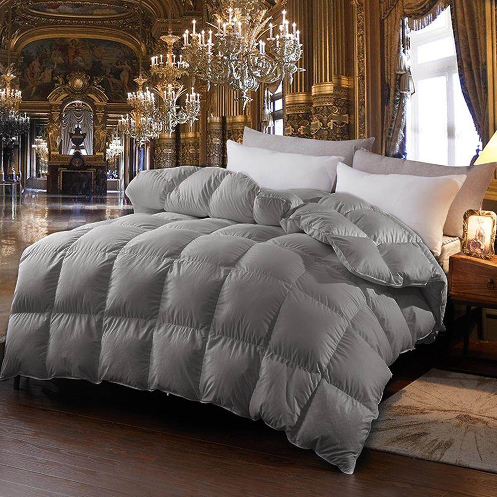 All-Season Down Alternative Duvet with Plush Microfiber Fill Washable Duvet for Hotel Home