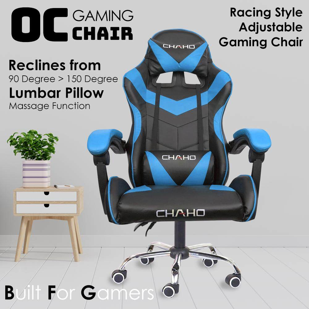Fantastic Sokano Oc04 Adjustable Racing Style Gaming Chair With Lumbar Massage Pillow Kerusi Gaming Kerusi Komputer Spiritservingveterans Wood Chair Design Ideas Spiritservingveteransorg