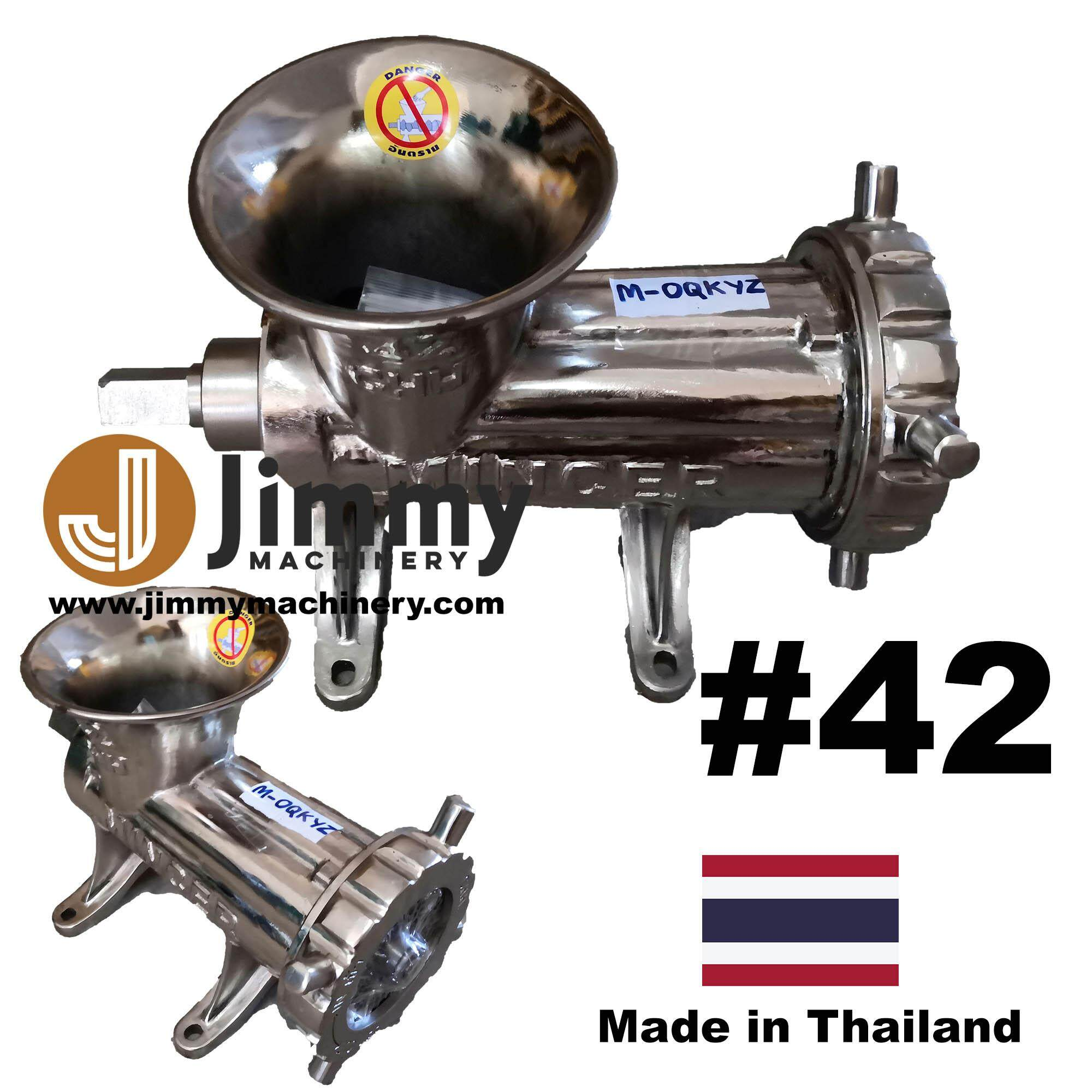 [Made in Thailand] Heavy Duty #42 42 Meat Mincer Grinder Stainless Steel Shaft Chrome Plated