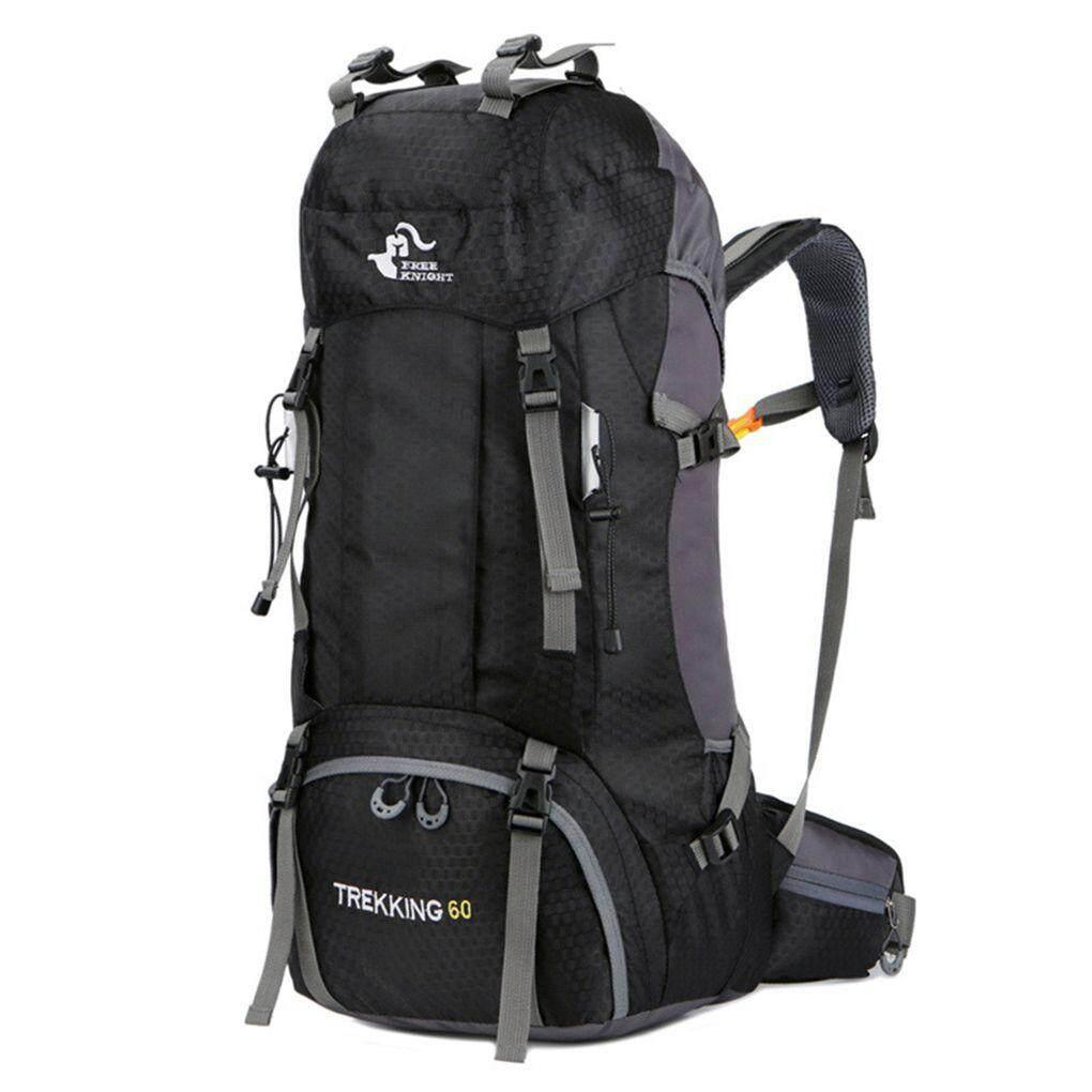 082aac0dde75 Free Knight 60L Waterproof Climbing Hiking Backpack Mountaineering Sackpack  Sport Outdoor Bike Shoulder Bag