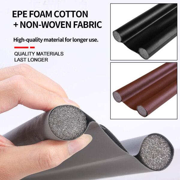 100cm/3.3ft Under Door Stopper Home Dorm Bedroom Sound Proof Noise Reduction Door EVA Draft Stopper