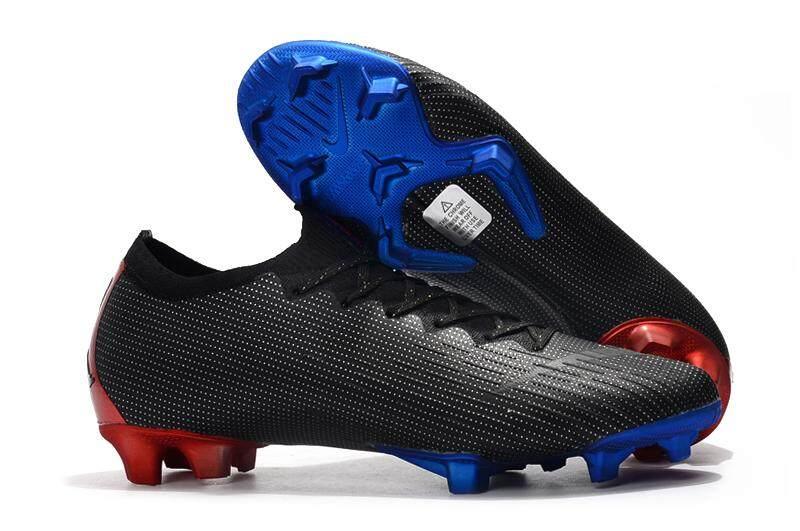 0f68e42c3 New Nike Mercurial Vapor XII Elite SE FG soccer shoes men football shoes  Black
