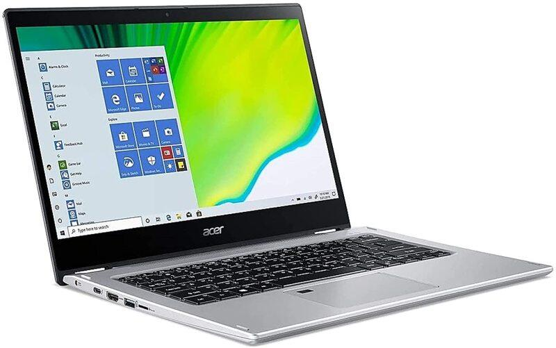 Acer Spin 3 Convertible Laptop with 14 FHD IPS Touchscreen, Ryzen 7 3700U Quad-core Processor, 8GB DDR4, 512GB SSD, Backlit Keyboard, Fingerprint Reader, Active Stylus Pen Included, and Windows 10 Malaysia