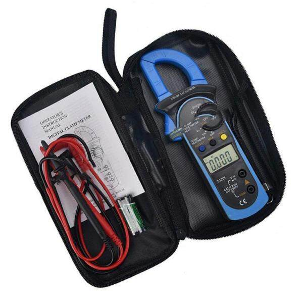 True Rms Ac Clamp Meter 1Ma Auto Range Digital Multimeter With Back Clip