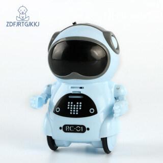 Túi Robot , Mini Robot Đồ Chơi Quà Tặng, Robot Thông Minh Nhảy Hát Ghi Âm Nhận Giọng Nói Đối Thoại Tương Tác Nói Chuyện thumbnail