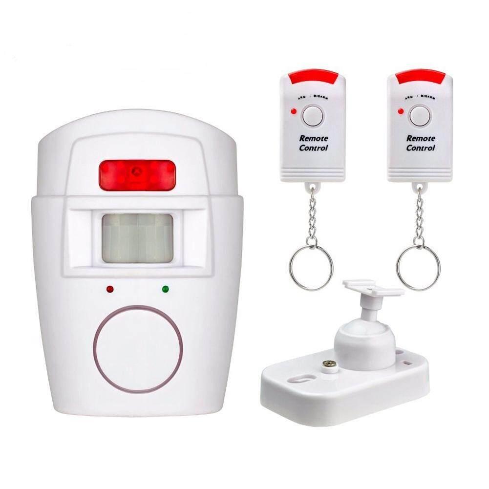 Remote Control Infrared Wireless Door Window Home Alarm Wireless PIR / Motion Alarm Sensor + 2 Remote Control Alarm 120db