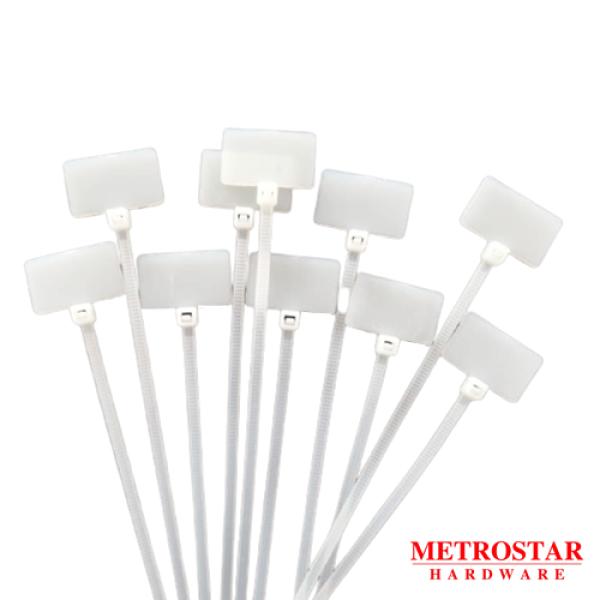 White Label Cable Tie 100pc (4/ 6/ 8/ 10) cable management 1000PCS