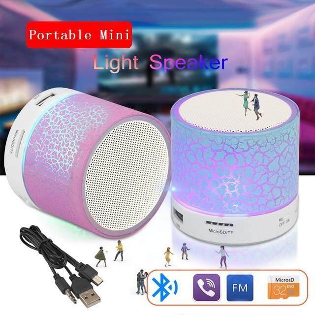 LED Mini Bluetooth Speaker Wireless Portable Bluetooth Speakers