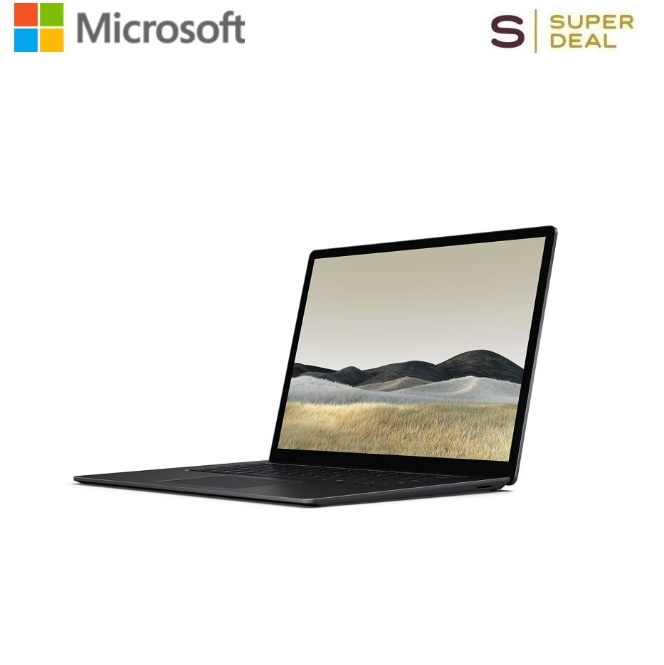 Microsoft 15  Multi-Touch Surface Laptop 3 (Matte Black) (AMD Ryzen 5 3580U,16GB DDR4 | 256GB SSD,AMD Radeon Vega 9 Graphics) Malaysia