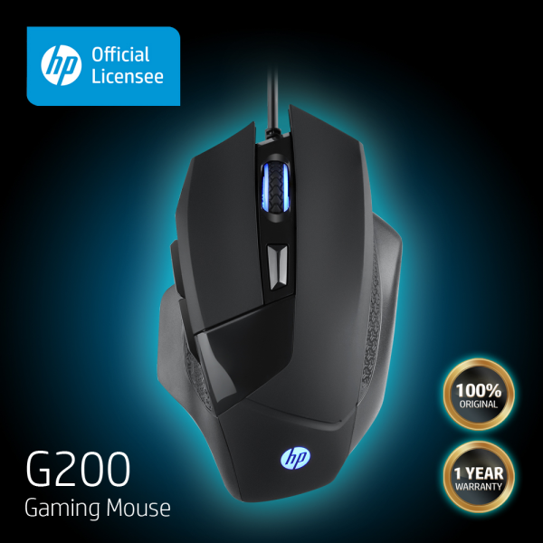 HP G200 High Performance Gaming Mouse (One Year Local Warranty) Malaysia