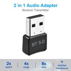 Bộ Chuyển Đổi Tenda, Thiết Bị Thu Phát USB Bluetooth 5.0, Dùng Cho Máy Tính, PC, Loa, Chuột
