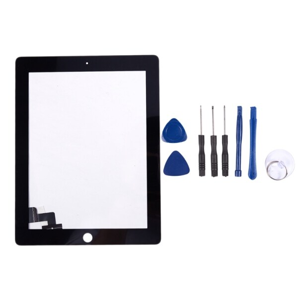 Bảng giá Press Screen Black Glass Digitizer Compatible Repair Replacement For Apple Ipad 2 + Tools Black Phong Vũ