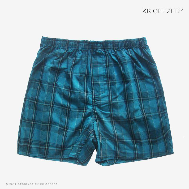 Kk Geezer Mens Underwear Male Boxers Plaid Underpants Cotton Shorts Striped Panties Homewear Loose Classic High Quality Sleep Breathable By Kk Geezer.