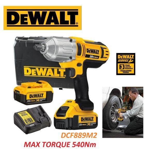 DeWalt 18V XR 540Nm Cordless 1/2 Dr. Impact Wrench, Cordless Impact Wrench