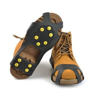 1 Đôi Giày Đinh Đá Đinh Kẹp Đá 10 Răng Ice Spike Silicone Không-Trượt Giày Cho Mùa Đông Đi Bộ Câu Cá Trên Băng Leo Núi thumbnail